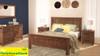 RADIUS QUEEN (VTO-001) 5 PIECE DRESSER BEDROOM SUITE (MODEL 20-15-19-3-1-14-1) - NATURAL