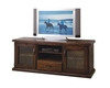 RUSTIC LOWLINE TV UNIT WITH 2 DOORS, 1 DRAWER AND SWING DVD DOOR - 1650(W)