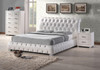 VALENCIA QUEEN 4 PIECE TALLBOY BEDROOM SUITE - BRIGHT WHITE OR BLACK