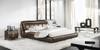 SCANNDIKI QUEEN 3 PIECE BEDSIDE BEDROOM SUITE - LEATHERETTE - ASSORTED COLOURS