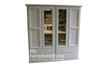 MUDGEE 2 PIECE WARDROBE WITH 4 DOOR AND 4 DRAWERS -  1900(H) X 1800(W) - ASSORTED COLOURS
