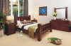 RUSTIC KING 6 PIECE BEDROOM SUITE
