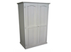 MUDGEE TIMBER 900W / 2 DOOR ONLY WARDROBE WITH HAT RACK -1800(H) X 900(W) -  ASSORTED COLOURS