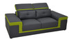 MAYOR (G8020D) 2 SEATER SOFA - CHOICE OF LEATHER AND ASSORTED COLOURS AVAILABLE