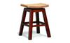ORNAMENTAL  BAR STOOL  (BR 002 WV) - SEAT: 760(H) - MAHOGANY