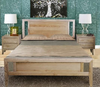 OHKLAHOMA QUEEN 3 PIECE  BEDSIDE BEDROOM SUITE ( MODEL 1-19-3-5-14-19-9-15-14)