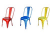 FRENCH INDUSTRIAL DINING  CHAIR ( VFI-045)  - ASSORTED COLOURS AVAILABLE.
