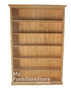 COLONIAL BOOKCASE - 7X4 - 2100 X 1200(W) - ASSORTED COLOURS