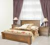 DONSILIA KING  BED  ( MODEL- 11-1-11-1-4-21 ) - RUSTIC
