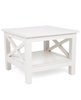 X  STYLE SIDE TABLE (DET293) - WHITE