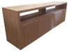 MACQUARIE 4 DOOR TV UNIT - TASSIE OAK COMBINATION - 2000(W) - ASSORTED TIMBER COLOURS