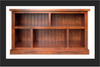 URBAN FLAT TOP LOWLINE BOOKCASE - 820(H) x 1500(W) - ASSORTED COLOURS