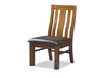 RADIUS (VTO-008) DINING CHAIR WITH PADDED LEATHERETTE SEAT
