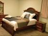JEFFERSON KING 3 PIECE  BEDSIDE BEDROOM SUITE -  (MODEL-14-1-16-15-12-5-15-14)   - AMERICAN CHESTNUT