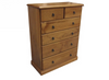 SIERRA (CSA306) 6 DRAWER TALLBOY (MODEL 19-1-22-1-14-14-1-8) - ASSORTED COLOURS AVAILABLE