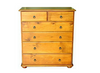 SAHARA CSH306 6 DRAWER TALLBOY - ASSORTED COLOURS AVAILABLE
