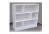 4FT STAGGERED BOOKCASE (ST4x4) - 1190(H) x 1200(W) - ASSORTED COLOURS