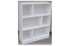 4FT STAGGERED BOOKCASE (ST4x3) - 1190(H) x 900(W) - ASSORTED COLOURS