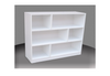 3FT STAGGERED BOOKCASE (ST3x3) - 860(H) x 900(W) - ASSORTED COLOURS