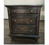RUDEN   QUEEN   5 PIECE  DRESSER  BEDROOM SUIT  (8221) BED WITH 2 FOOTEND DRAWERS  (MODEL - 7-5-15-18-7-9-1) -BURNISHED CHERRY