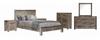 SWAN  (3558)  2 DRAWERS BEDSIDE TABLE (19-20-15-3-11-25-1-18-4)- BRUSHED GUM