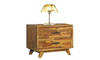 """MAVIN 18"""" THREE (3) DRAWERS  BEDSIDE TABLE - (8-1-23-20-8-15-18-14) - COLOUR AS PICTURED"""