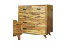 MAVIN   4  DRAWERS TALLBOY CHEST  - (8-1-23-20-8-15-18-14) - COLOUR AS PICTURED
