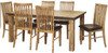 CEMBER  7 PIECE HARDWOOD DINING SETTING WITH 1800(W) X 1000(D) TABLE -  16-15-18-20-12-1-14-4)