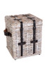 RATTAN 3 PIECE TRUNK  (DET7923SET) - KUBU GREY WASH OR WHITE WASH