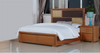 DUAS (614) QUEEN 6 PIECE (THE LOT) BEDROOM SUITE WITH  LED LIGHT ON BEDHEAD  (MODEL 1-21-4-18-5-25) - MAPLE