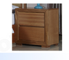 DUAS (614) QUEEN 5 PIECE DRESSER BEDROOM SUITE WITH  LED LIGHT ON BEDHEAD  (MODEL 1-21-4-18-5-25) - MAPLE