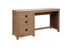 VIENNA  3 DRAWER DESK  (DK 003 VIE) -1500(W) X 500(D) - NATURAL TEAK