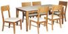 NEVADA  DINING TABLE ONLY  1800 (W) X 900(D) - MATTE FINISH