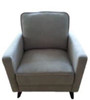 BARLETTO ARM CHAIR - GREY OR CHARCOAL FABRIC