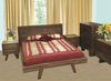 SUSAN  KING 4  PIECE TALLBOY  BEDROOM SUITE  - ASSORTED COLOURS AVAILABLE