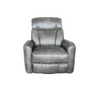 ALANZO ELECTRIC LEATHER  RECLINER  - GREY