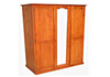 MUDGEE TIMBER ALL HANGING WARDROBE - 1800(H) X 1300(W) -ASSORTED COLOURS AVAILABLE
