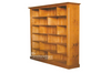 PIGEON BOOKCASE 3 SPACE ON TOP (7 X 5) - 2100(H) X 1500(W) - ASSORTED COLOURS