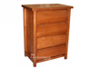FEDERATION 4 DRAWER TALLBOY - ASSORTED COLOURS
