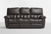 SKYLINE RECLINER SUITE 3RR+1R+1R - 100% LEATHER - BROWN OR BLACK