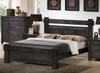 KING BUCKINGHAM BED (MODEL - 19-5-1-20-20-12-5) - BLUE