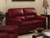 LUXEMBURG 2 SEATER FULL LEATHER SOFA
