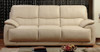NOVARA 3 SEATER + 2 SEATER FULL LEATHER LOUNGE (ITALIAN M1/S) - (2 SEATER NOT PICTURED)