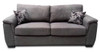 TRINITY 2.5 SEAT INNERSPRING SOFA BED - FLAX LINEN