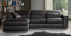 VICENZA 3 SEATER FULL LEATHER CHAISE (ITALIAN M2)