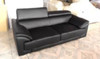 RANIA (F6002) 1 SEATER + 2 SEATER + 3 SEATER LEATHER/ETTE COMBINATION LOUNGE SUITE - ASSORTED COLOURS