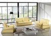 MAITE (F6006) 1 SEATER + 2 SEATER + 3 SEATER LEATHER/ETTE COMBINATION LOUNGE SUITE - ASSORTED COLOURS