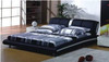 KING ALEX LEATHERETTE BED (A826) - ASSORTED COLOURS