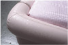 KING FRANCES LEATHERETTE BED (A8156) - ASSORTED COLOURS