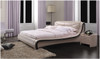 JEAN-CLAY QUEEN 3 PIECE BEDSIDE BEDROOM SUITE WITH (#91 BEDSIDES) - LEATHERETTE - ASSORTED COLOURS